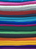 Colourful Cloths, Otavalo, Ecuador Fotografie-Druck von John Coletti
