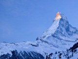 Matterhorn, Zermatt, Valais, Switzerland Photographic Print by Walter Bibikow