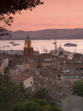 Village Overview, St.Tropez, Cote d'Azur, France Photographic Print by Doug Pearson