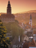 Cesky Krumlov, South Bohemia, Czech Republic Photographic Print by Walter Bibikow