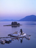 Convent of Vlachernas, Kanoni Peninsula, Corfu, Greece Photographic Print by Doug Pearson