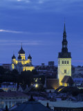 Skyline of Old Town, Tallinn, Estonia Photographic Print by Jon Arnold