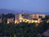 Alhambra Palace, Granada, Granada Province, Andalucia, Spain Fotodruck von Alan Copson