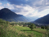 Brig, Valais, Switzerland Photographic Print by Jon Arnold