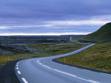 Road in Iceland Photographic Print by Jon Arnold