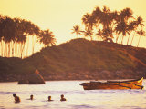 Beach at Goa, India Photographic Print by Peter Adams