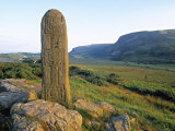 Megalithic Pillar, Gencolumbkille, Co. Donegal, Ireland Photographic Print by Doug Pearson