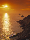 Pointe du Raz, Cape Sizun, Finistere Region, Brittany, France Photographic Print by Doug Pearson
