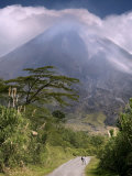 Arenal Volcano, Arenal, Costa Rica Photographic Print by John Coletti
