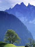 Mountain Landscape, Switzerland Photographic Print by Peter Adams