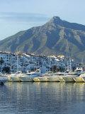 Puerto Banus Marina, Marbella, Malaga Province, Andalucia, Spain Photographic Print by Alan Copson