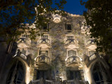 Casa Battlo, Barcelona, Spain Photographic Print by Peter Adams