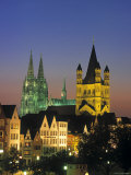 Cathedral at Cologne, Germany Photographic Print by Jon Arnold