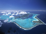 Bora Bora, French Polynesia Photographic Print by Walter Bibikow