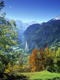 Lauterbrunnen Valley, Berner Oberland, Switzerland Photographic Print by Peter Adams