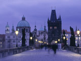 Charles Bridge, Prague, Czech Republic Photographic Print by Jon Arnold
