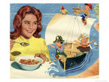 Pirates in Cereal Advertisement Posters