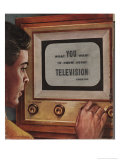 What You Want to Know About Television Giclee Print