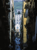 Narrow Streets of Naples, Italy Photographic Print by Demetrio Carrasco