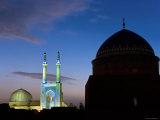 Jameh Mosque, Yazd, Iran Photographic Print by Michele Falzone