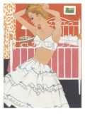1960's Boudoir Brassiere and Petticoat Graphic Posters