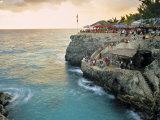 Rick's Cafe, Negril, Jamaica Reprodukcja zdjęcia autor Doug Pearson