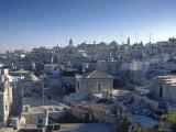 Old City of Jerusalem, Israel Photographic Print by Jon Arnold
