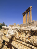 Temple of Jupiter, Baalbek, Bekaa Valley, Lebanon Photographic Print by Gavin Hellier