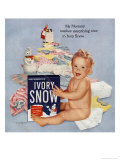 Ivory Snow Soap Giclee Print