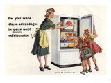 Advantages in Your Next Refrigerator Giclee Print