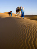 Merzouga, Erg Chebbi, Sahara Desert, Morocco Photographic Print by Gavin Hellier