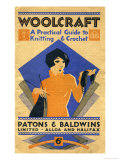 Woolcraft, A Practical Guide to Knitting and Crochet Posters