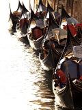 Gondolas, Venice, Italy Photographic Print by Alan Copson
