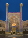 The Entrance Gate to Imam Mosque, Isfahan, Iran Fotografie-Druck von Michele Falzone