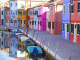 Burano, Venice, Italy Photographic Print by Alan Copson