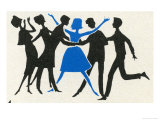 Dancing People Posters