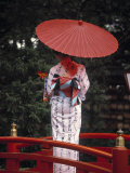 Geisha Girl with Kimono at Festival, Japan Photographic Print by Demetrio Carrasco