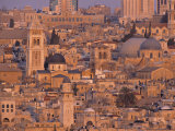 Old City of Jerusalem, Israel Photographic Print by Jon Arnold