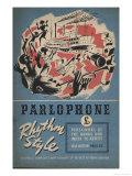 Parlophone Giclee Print