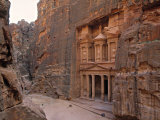 The Treasury, Petra, Jordan Photographic Print by Jon Arnold