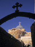 Church of the Holy Sepulchre, Jerusalem, Israel Photographic Print by Jon Arnold