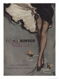 1950's Kayser Bondor Nylons Advertisement Kunstdruck