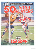 50 Star Players of 1924 Album Lámina