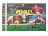 Wembley Board Game Print