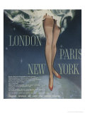 1960's Tights London Paris New York Giclee Print