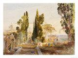 The Villa d'Este, 19th Century Giclee Print by Samuel Palmer