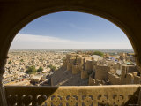 View from Rajmahal, Jaisalmer, Rajasthan, India Photographic Print by Doug Pearson