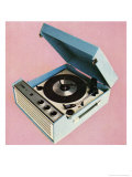 1960's Portable Record Player Poster