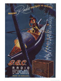 Making Radio History in Malaya, GEC Radio Specially Built For Long Service in the Tropics Giclee Print