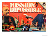 Mission Impossible Game Poster